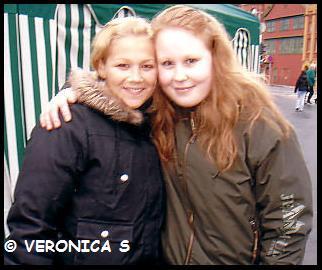Meg og Maria i Bergen 12 Februar 2005