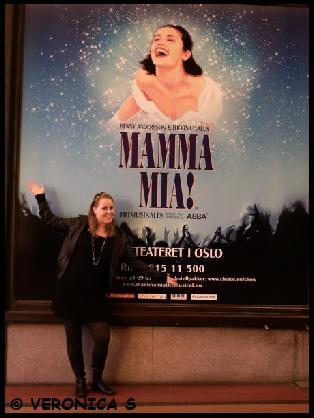 Mamma Mia plakaten og meg